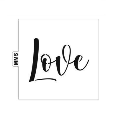 Pochoir Love