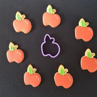 Emporte pièce contour pomme