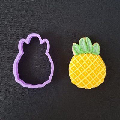 Emporte pièce contour ananas