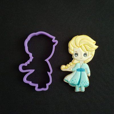 Emporte pièce contour Elsa