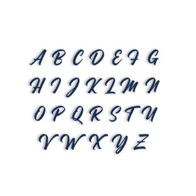 Lot de 26 tampons lettres Majuscules Madame