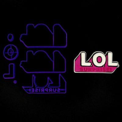 Emporte pièce en kit logo LOL