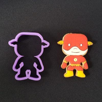 Emporte pièce contour Personnage Flash