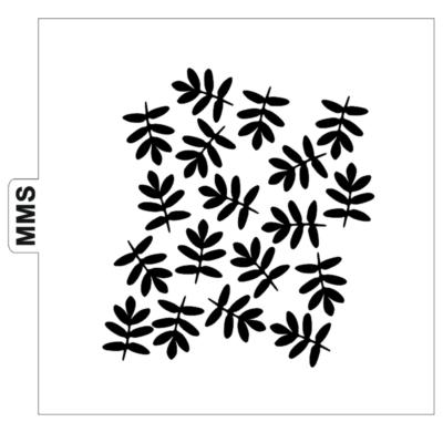 Pochoir feuilles