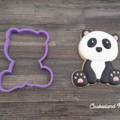 Emporte pièce contour panda