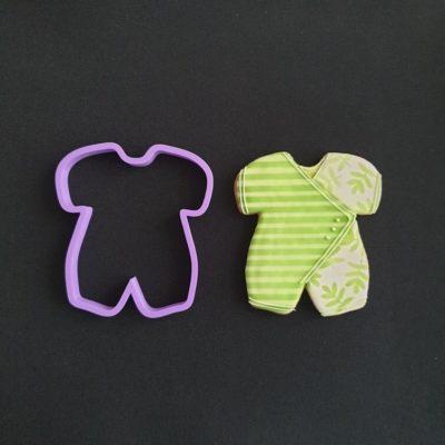 Emporte pièce contour vêtement bébé
