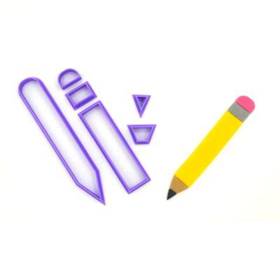 Emporte pièce en kit crayon écolier