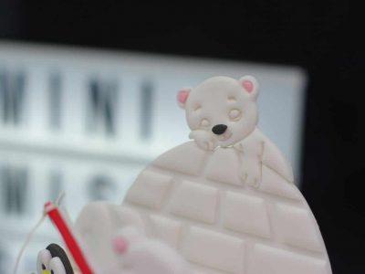 gâteau polaire ourson igloo